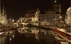 город во Фландрии, в Бельгии, Gent, Belgium, Гент
