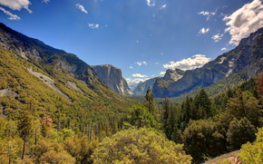 paisagem, Calif?rnia, Yosemite National Park