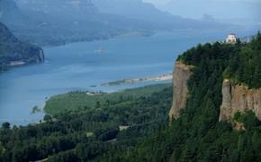 Виста Дом, Краун Пойнт, в ущелье реки Колумбия, Орегон