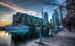 Canada, Harbourfront, Toronto