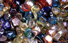 TEXTURE, Multicolore, Pierres de verre
