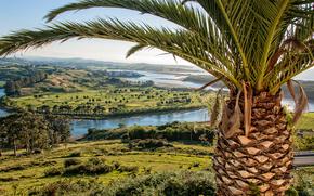 vista de cima, paisagem, Cantabria, Billabong Paz