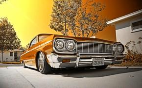 Jeden tysięcy dziewięćset sześćdziesięciu czterech, Chevrolet, Impala, zamienny, Lowrider, Chevrolet, Impala