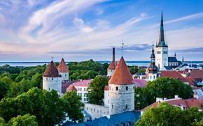 Estonia, Tallinn, città