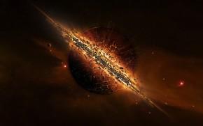 солнце, взрыв