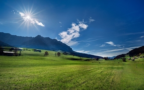 Alps, Austria, Alps, Austria, meadow, Mountains