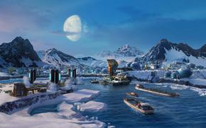 Anno 2205, Arctic, colony