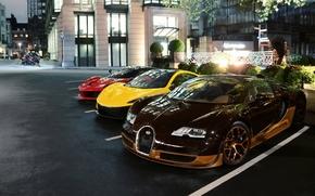 McLaren P1, McLaren, LaFerrari, Ferrari F150, Ferrari, Bugatti Veyron 16.4 Grand Sport Vitesse Rembrandt, Bugatti Veyron, Grand Sport, Rembrandt, Bugatti, Veyron, london, London