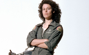 Sigourney Weaver, Alien, flamethrower