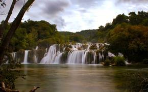 Skradinski buk, Parco Nazionale di Krka, Fiume Krka, Dalmazia, croazia, Skradinski Buk, Parco Nazionale di Krka, Fiume Krka, Dalmazia, Croazia, cascata, cascata, fiume, autunno