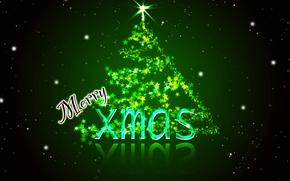 Christmas Wallpaper, wakacje, jodła