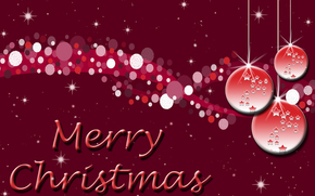Sfondi di Natale, vacanza, Palloncini