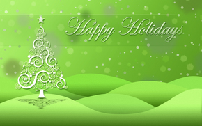 Christmas Wallpaper, holiday, fir-tree