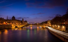 Дворец Консьержери, париж, франция
