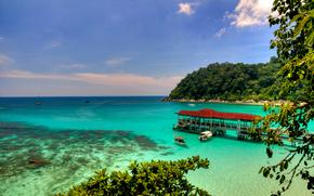 Perhentian Island, Malaisie, paysage