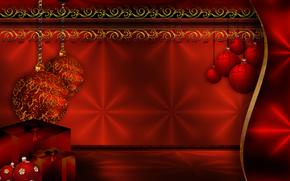 Christmas, festive background, Christmas Background