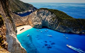 Shipwreck, Navagio beach, Zakynthos, Закинтос, Ионические острова, Греция