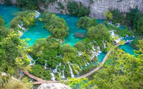 Laghi di Plitvice, croazia, paesaggio