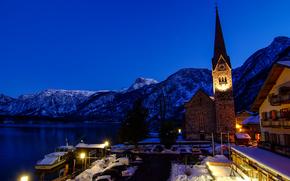 Hallstatt, Austria, Lago di Hallstatt, Alpi
