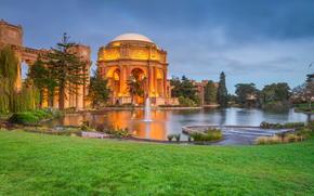 Дворец изящных искусств театр, Сан-Франциско, Калифорния