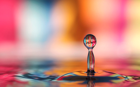LIQUID, drop, background, Macro