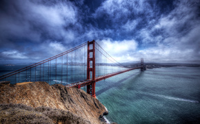 Golden Gate, Golden Gate Bridge, California