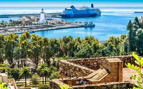Malaga Port, Spagna, -