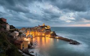 Vernazza, Cinque Terre, Liguria, Italia, Mar Ligure, Vernazza, Cinque Terre, Liguria, Italia, Mar Ligure
