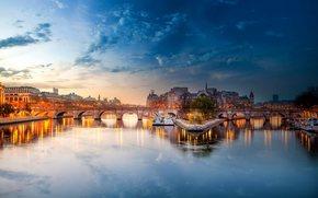 Parigi, Francia, Senna, ponte