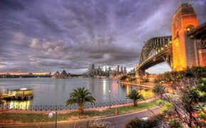 Sydney Harbour Bridge, Sydney, australia, city