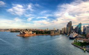 Sydney, australia, city, Pano