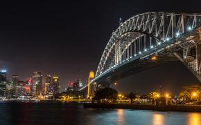 シドニーハーバーブリッジ, シドニー, オーストラリア, 都市