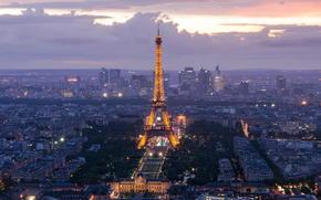 Paris, Eiffel Tower, франция
