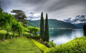 Lake Como, Villa del Balbianello, Lenno, Italia