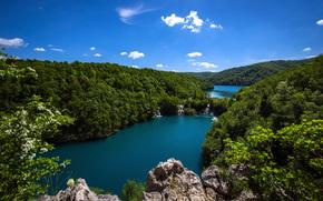 Nacional Plitvicer Seen, Croacia, paisaje