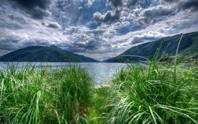Lago di Lugano, Melide, Suiza