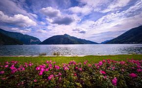Lago di Lugano, Melide Swissminiatur, Suiza