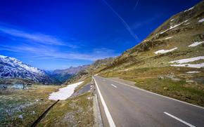 carretera, Sustenpass, Suiza