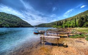 Limski Zaljev, croazia, paesaggio