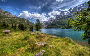 Engstlensee, Suiza, paisaje