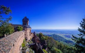 Orschwiller, Alsazia, Francia