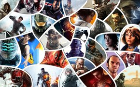Assasins Creed, Tomb Raider, Warface, efecto de masa, Recordarme, Far Cry, Espacios Muertos, Crysis, Bioshock, gta, Devil May Cry, Battlefield 4, acosador, Skyrim, Mirrors Edge, De Halo, Titanfall, Ordenanza, ver perros, Metal Gear Rising: Revengeanc