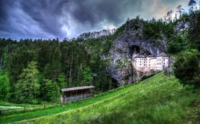 Словения, Предъямский замок, пейзаж