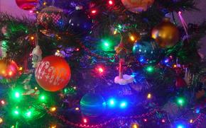 Albero di Natale, Palloncini, Ghirlande, Giocattoli