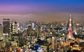 Токио, япония, город