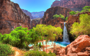 Havasu Falls, Grand Canyon, Arizona, USA
