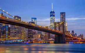 Brooklyn Bridge, Brooklyn Bridge, New York, USA