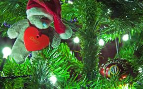 Floristería árbol equipos, Guirnaldas, luces, Juguetes