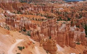 Bryce Canyon National Park, горы, скалы, пейзаж