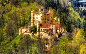 Hohenschwangau Castle, Germany, Bavaria